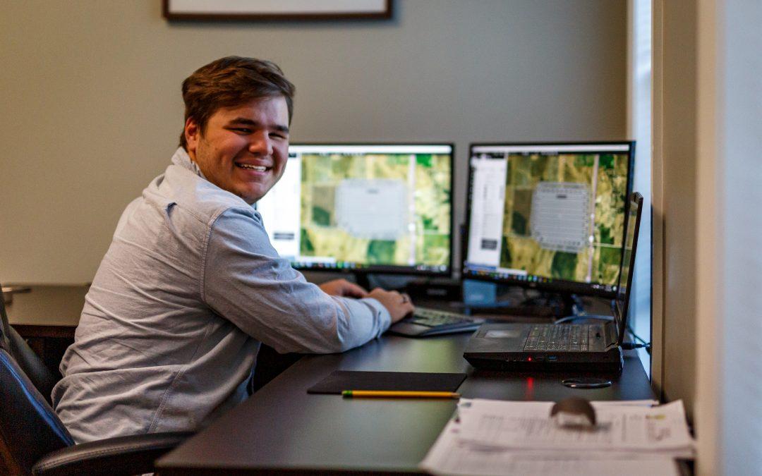 Spotlight on Nick King, LETEL's newest Assistant Drone Pilot & Visual Observer